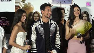 Student of the Year 2 official trailer launch   Tiger Shroff, Ananya Pandey, Tara Sutaria   Uncut 02