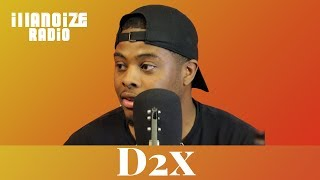 D2x on turning basketball career down for music career, crediting producers & More | iLLANOiZE Radio