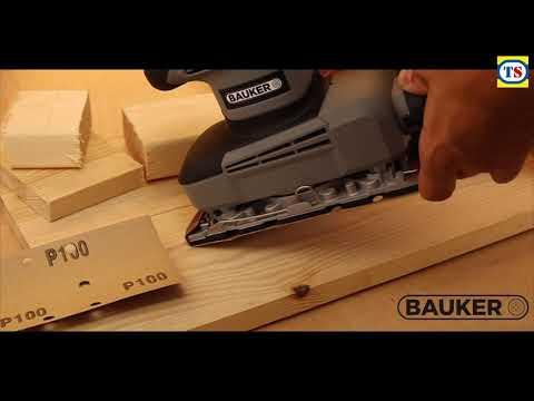Bauker 260W 1/3 Sheet Sander