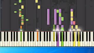 [Piano Tutorial Synthesia]DJ Bobo - Black Rain (ge)
