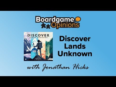 Boardgame Opinions: Discover Lands Unknown