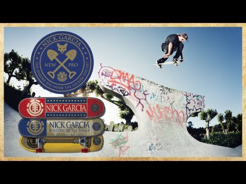 ELEMENT - NICK GARCIA WELCOME TO THE PRO TEAM