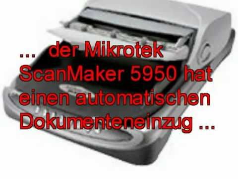 Mikrotek 5950 ADF scanner, one step to the paperless office