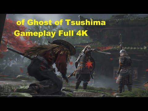 18 Minutes of Ghost of Tsushima Gameplay Full 4K Presentation