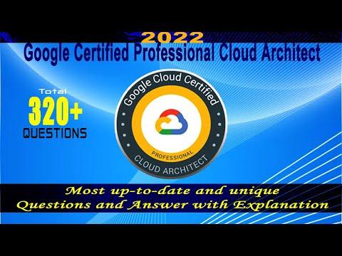 Google PCA | Google Certified Professional Cloud Architect - Exam ...