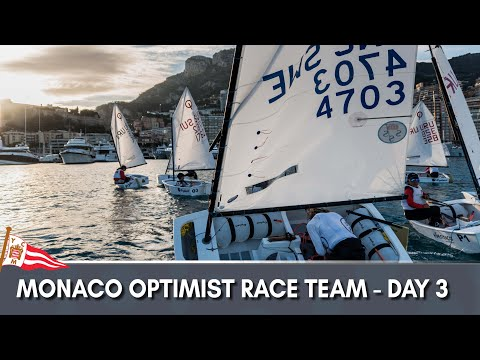 Monaco Optimist Team Race 2018 - Day 3