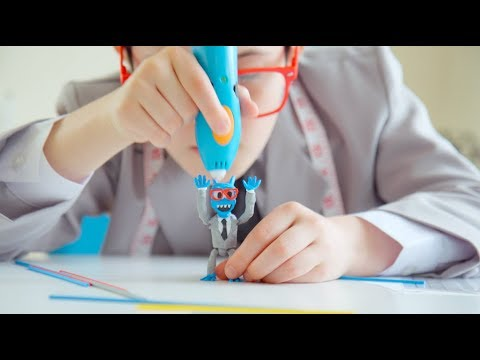 Youtube Video for Smart 3D Pen - Super Mega Kit