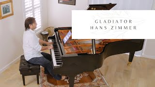 Gladiator - Now We Are Free - Hans Zimmer - David Hicken Piano Solo