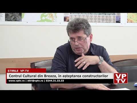 Centrul Cultural din Breaza, în așteptarea constructorilor