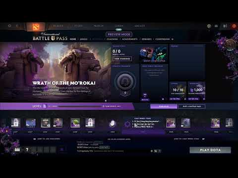 Dota 2 - The International 2019 Battle Pass - All chat wheel
