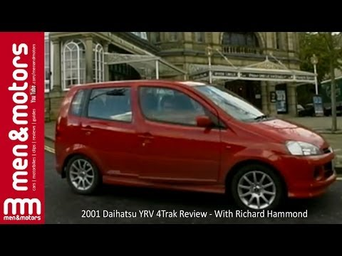 2001 Daihatsu YRV 4Trak Review with Richard Hammond