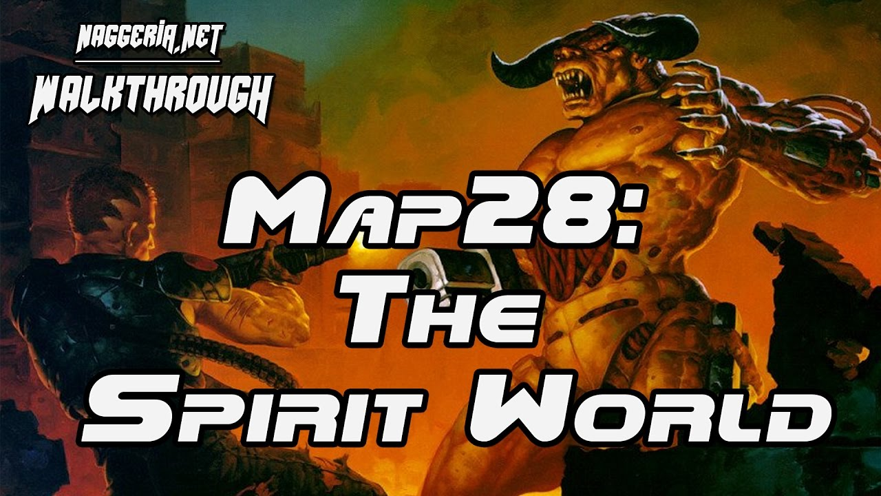 "[Doom 2 Komplettlösung] Map28: ""The Spirit World"" Walkthrough (Ultra-Violence)"