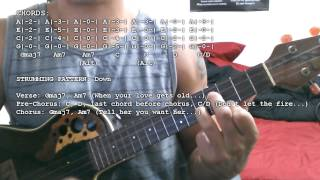 Sons Of Zion   Tell Her (Chords Tutorial)(Ukulele)