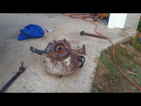 1999 mazda millenia front wheel bearing