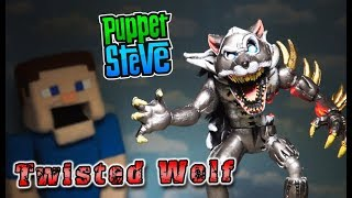 FNAF Twisted Ones TWISTED WOLF Toy Bootleg Funko Articulated Action Figures Five Nights at Freddy's