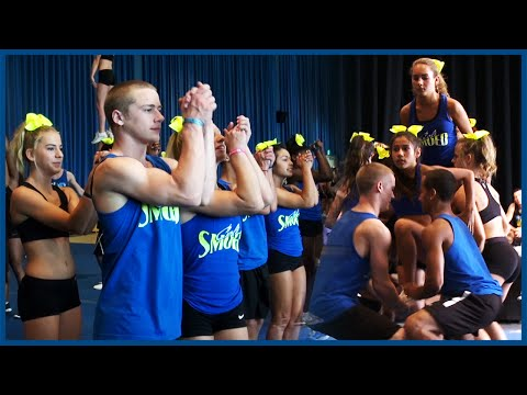 Cali Camp Music Video Day 2 - Cheerleaders Extras