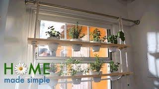 DIY Window Herb Garden | Home Made Simple | Oprah Winfrey Network