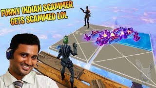 Funny INDIAN Lying Rich Scammer (Scammer Gets Scammed) in Fortnite Save The World