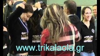 Τρίκαλα Βετεράνοι Ελλάδας-Μπαρτσελόνα 26-11-11 μέρ.1ο