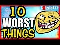 ? 10 WORST THINGS IN ZOMBIES That Made No One CREAM (10 Things Zombie Pl...