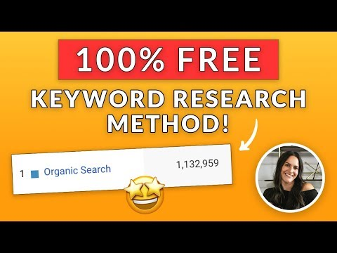 Organic Keyword Research Tutorial – Optimizes With Broad Match Keywords in Your Organic SEO Tool