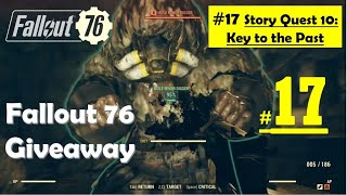 Fallout 76 - Key to the Past - Find all Key Fragments - Get Admin Password - Kill David
