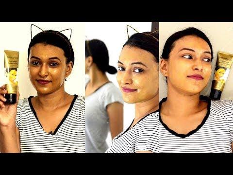 Die kosmetische Prozedur unter den Augen