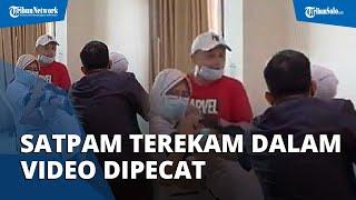 Terlihat Tak Melerai saat Perawat RS Siloam Dianiaya, Satpam yang Terekam di Video Kini Dipecat