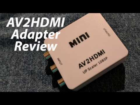 Should You Buy: An AV2HDMI Adapter - A RoXolid Review