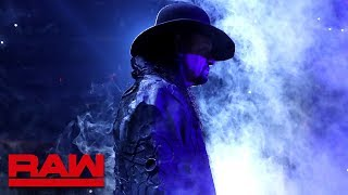 "The Undertaker is Shane McMahon and Drew McIntyre's ""Reaper"" : Raw, July 1, 2019"