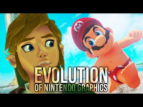 Evolution Of Nintendo Graphics (NES To Switch)