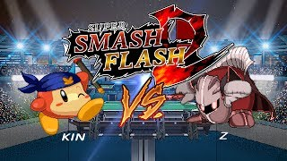 Super Smash Flash 2 - Meta Knight (Z) vs Bandanna Dee (KIN)