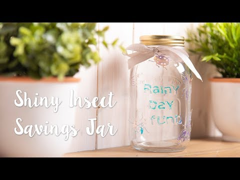 Rainy Day Fund Insect Jar - Sizzix