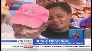 Makueni County Assembly conducts business outside the assembly