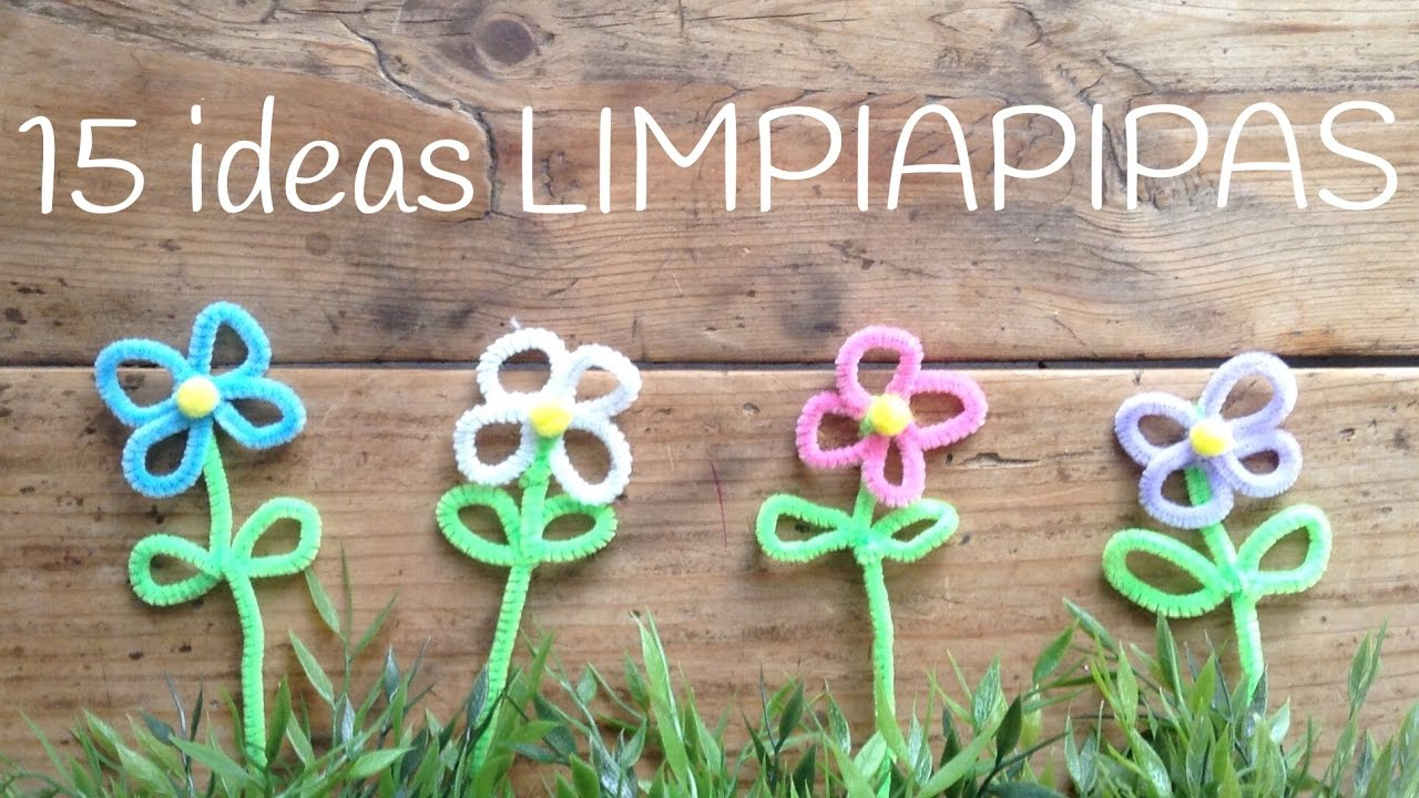 15 Manualidades Con Limpiapipas Para Ninos Pipe Cleaners Ideas
