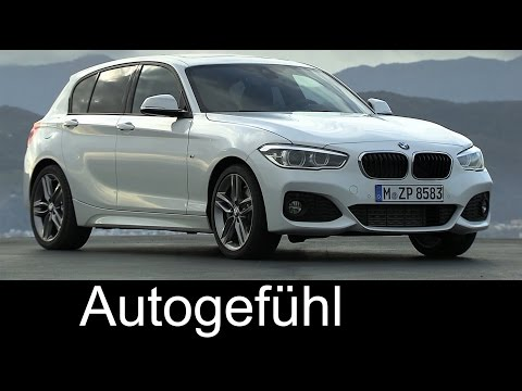 New BMW 1-Series 2015 Facelift BMW 1er driving shots exterior interior