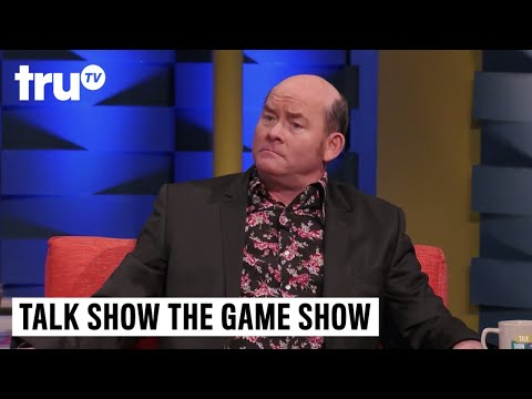 Talk Show the Game Show - David Koechner's Throw Pillow Confession | truTV