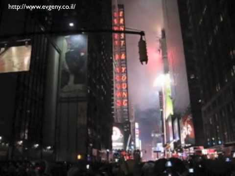 New Year 2010 eve at Times Square, NY