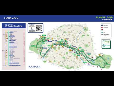 Schneider Electric Marathon de Paris 2019 x Ligne 42 RATP