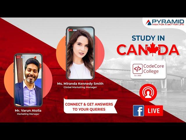 CodeCore College, CANADA Live!