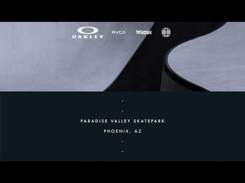 Aaron Jaws Homoki | On Location: Paradise Valley Skatepark - Phoenix, AZ