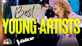 The Best Young Artist Performances of the Season - The Voice 2021
