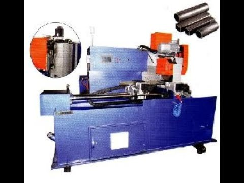 JE-485 2 Axis Fully Automatic Servo Pipe Cutting Machine