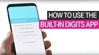 How to Use the Built-In DIGITS App | T-Mobile