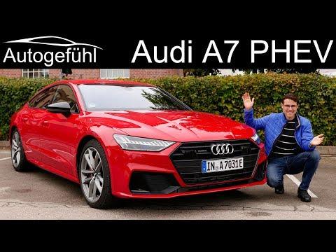 Audi A7 Sportback S-line 55 TFSI e quattro FULL REVIEW new PHEV - Autogefühl