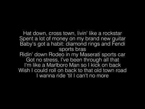 Lil Nas X- Old Town Road Remix ft. Billy Ray Cyrus Lyrics