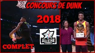CONCOURS DE DUNK ALL STAR GAME 2018 ! Complet HD