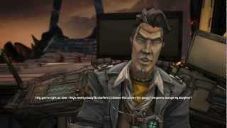 Borderlands 2: True Vault Hunter Mode - Handsome Jack and The Warrior Boss Fight w/ Ending