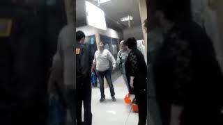 В Талдыркогане окаменел человек 23.01.15