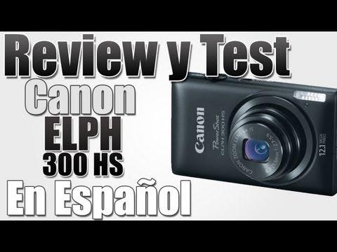 Unboxing |Camara Canon PowerShot ELPH 300 HS En Español